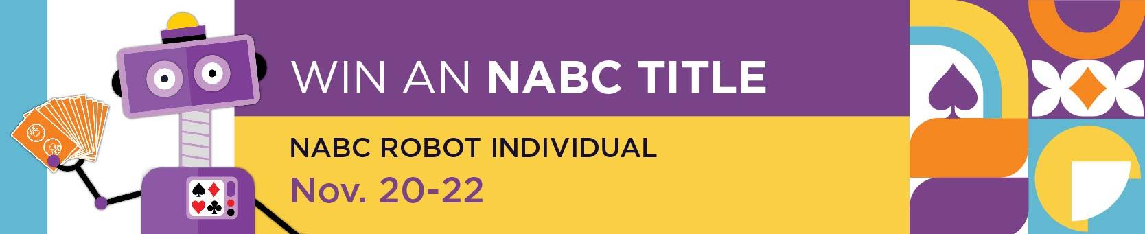 Fall NABC Robot Individual
